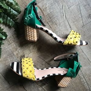 Kate Spade Pineapple Shoes